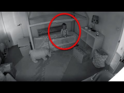 Bebek Her Gece Odadan Kayboluyordu, Annesi Odasına Kamera Yerleştirdi İzleyince Gözlerine İNANAMADI!