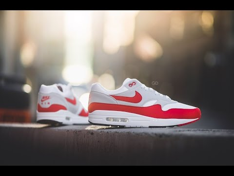 "Review & On-Feet: Nike Air Max 1 Anniversary OG ""White/Red"""