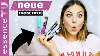 mascara test neues sortiment - wie lockenwickler für die wimpern?