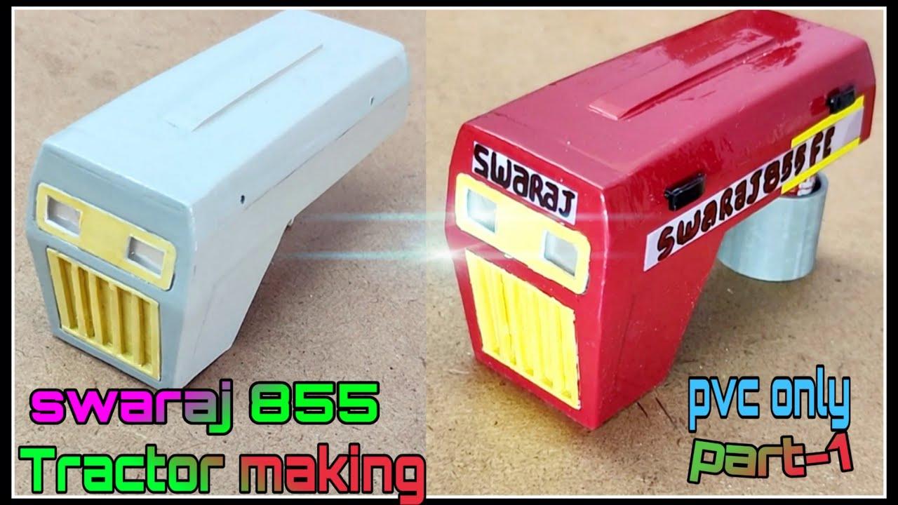 Download Remote control swaraj tractor 855 homemade swaraj tractor model tractor model making tractor making