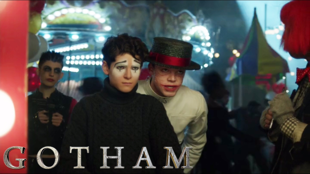 Gotham Jerome And Bruce At The Carnival S3E14 YouTube