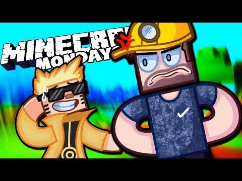 BASEMENT BONDING! - MINECRAFT MONDAYS With The Crew! (Episode 30)