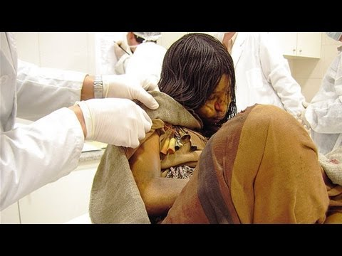 500 years old Mummy of a Frozen Girl from the Incan Empire