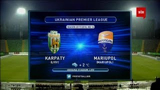 Karpaty Lviv vs Illichivets full match