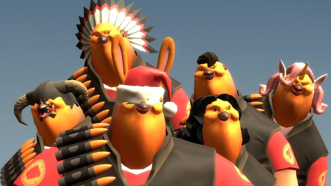 Tf2 Great Chicken Kiev Loadouts Part 2 Youtube