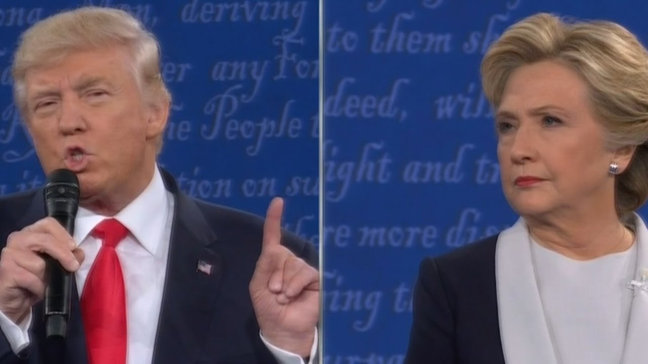 Donald Trump Brings Up Bill Clinton Sex Scandal at Debate