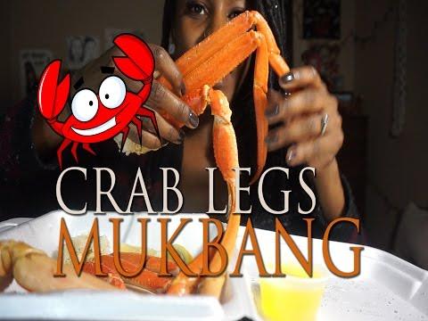 CRAB LEG • MUKBANG