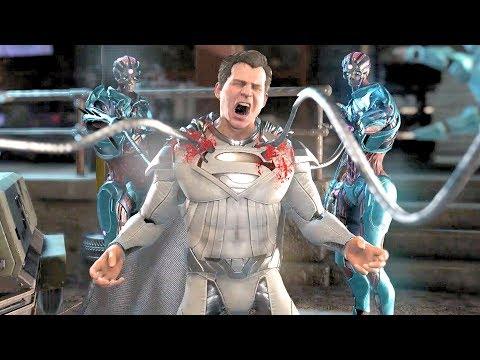 Injustice 2 All Super Moves on Superman Electrum 4k Ultra HD 2160p