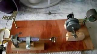 самодельный паровой двигатель / homemade steam engine