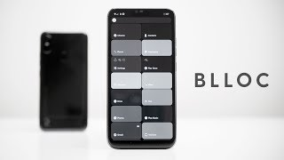 Android in Monochrome?   Blloc Zero 18 - exclusive first look