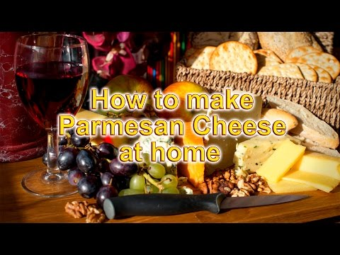 Parmesan Cheese Made At Home