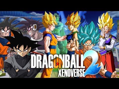 How 2 Make All Goku, Goku Black, Bardock, & Turles In Dragon Ball Xenoverse 2
