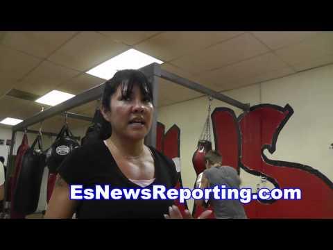 mia st john on floyd mayweather vs manny pacquiao - EsNews boxing