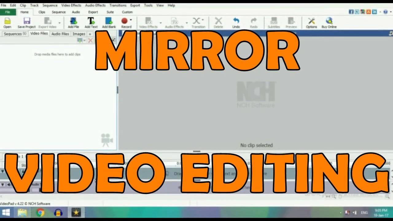 Mirror video editing video pad youtube mirror video editing video pad ccuart Image collections