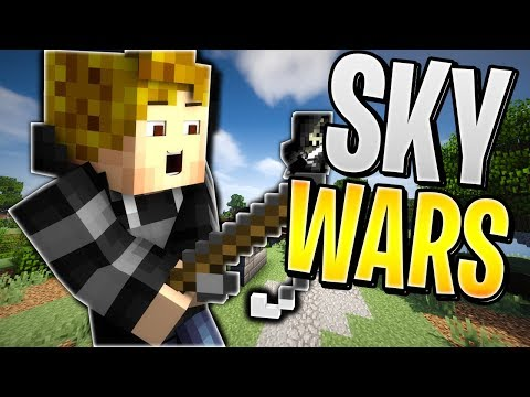 HACKER TRIED TO KILL ME AND JUSTIN... NOT TODAY! (Hypixel Skywars)