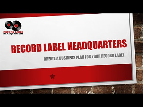 starting an independent record label How to write a record label business plan (free template) back creating a professional, well-written business plan is the best place to start when setting up your own independent record label.
