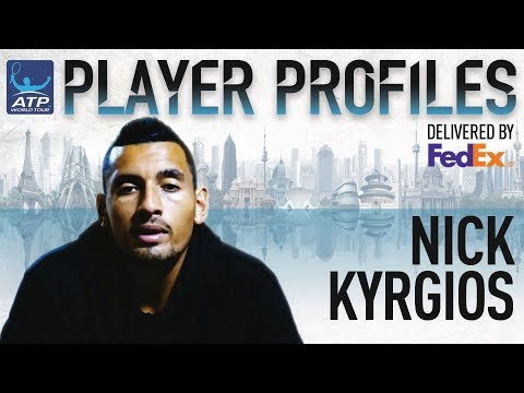 Nick Kyrgios FedEx ATP Player Profile 2017