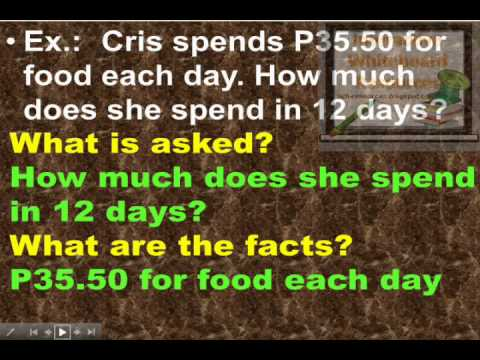 Interactive Math Lesson - Solving Word Problems Involving ...