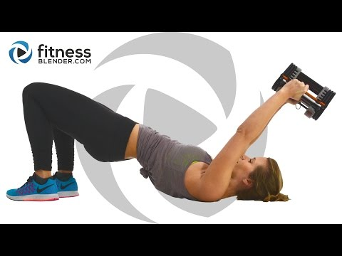 Kelli's Upper Body Workout for People Who Get Bored Easily Arms, Shoulders, Upper Back