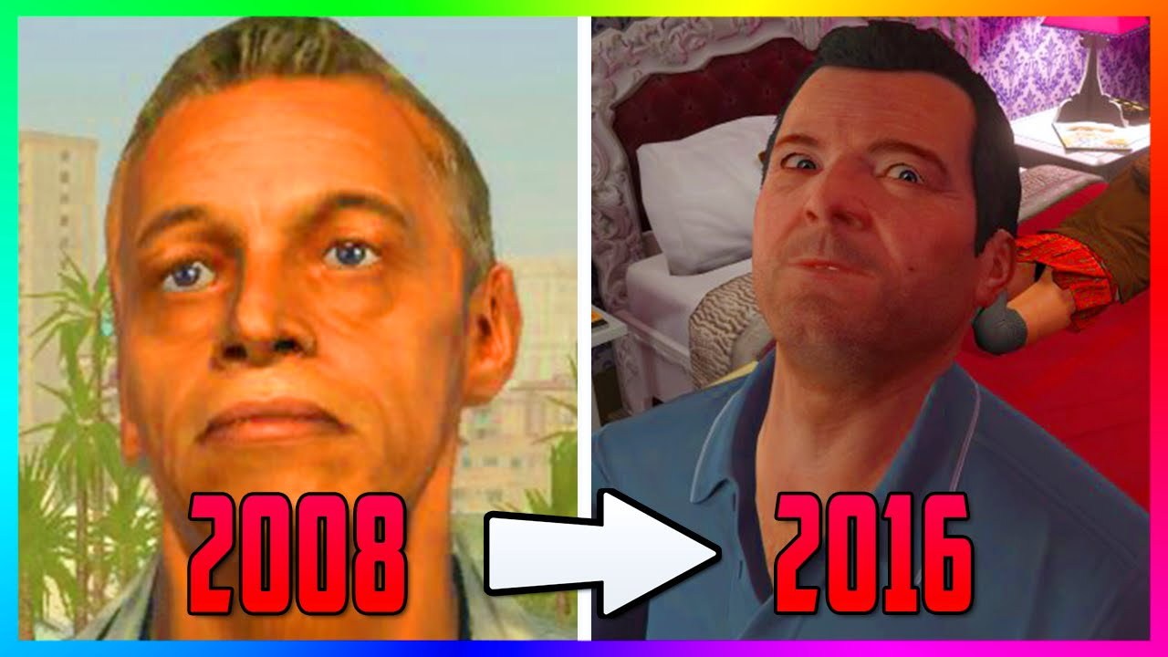 The First Ever Images Of Gta  How The Characters Los Santos Looked Like  Years Ago Youtube