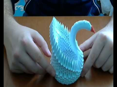 How To Make 3d Origami Swan 1 Diy Paper Craft Swan