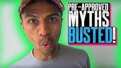 PRE-APPROVED MYTHS BUSTED || NEW STALL TACTICS || OPT OUT