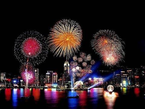 Fireworks Display - Baltimore Inner Harbor