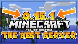 BEST WORKING 0.15.1 Minecraft PE Server! - Brokenlens - Minecraft PE (Pocket Edition)