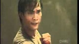 Tony jaa in enter the new dragon