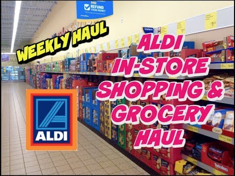 aldi in store grocery haul family of 4 november 6th 2017 youtube. Black Bedroom Furniture Sets. Home Design Ideas