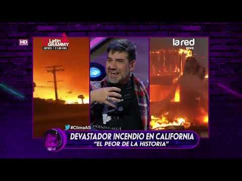 Fuerte incendio en California: más de 30 víctimas y 200 desaparecidos