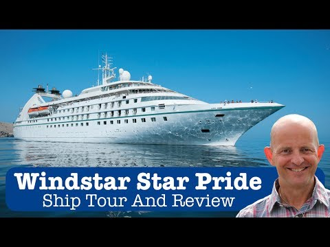 Windstar Cruises Star Pride Ship Tour