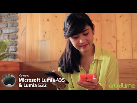 Microsoft Lumia 435 & Lumia 532 - Review Indonesia