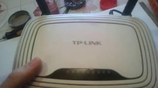 TP-LINK ta'mirlash va tiklash TL-WR841N, yonib oziq-ovqat