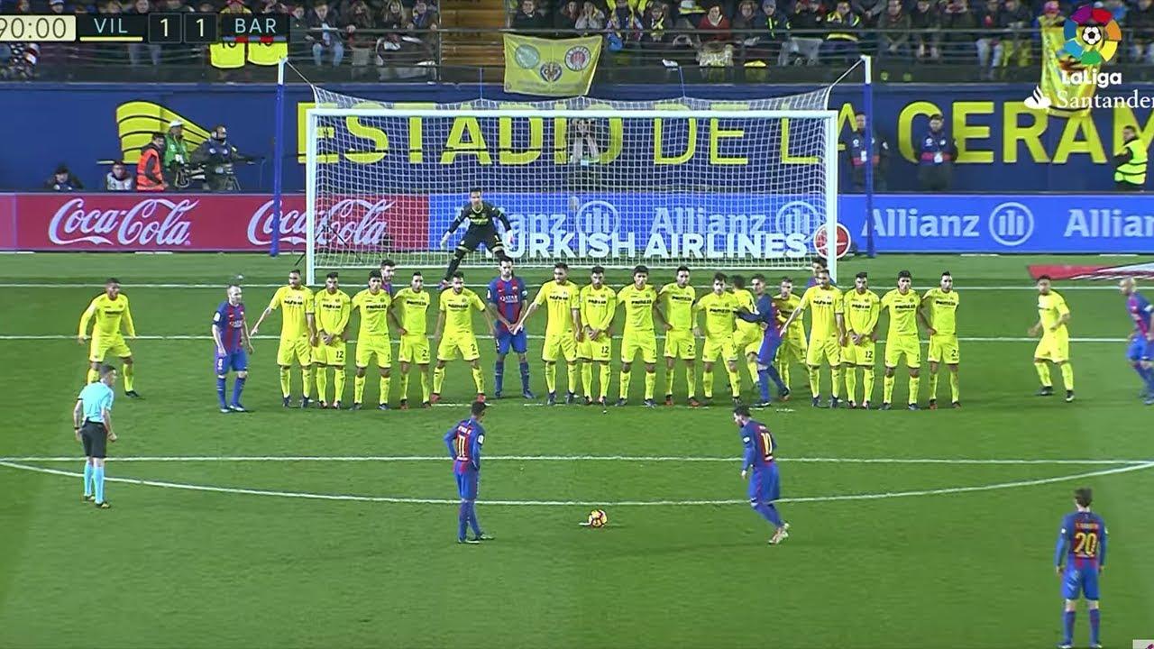 Biggest Free Kick Walls in Soccer/Football History HD 1080p - YouTube