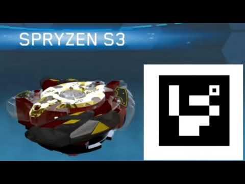 QR Code Legend Spryzen S3