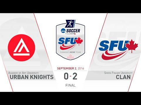 SFU Clan Women's Soccer: SFU vs. AAU - September 2, 2016