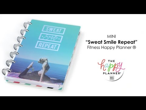 'Sweat Smile Repeat' Happy Planner® Preview - MINI