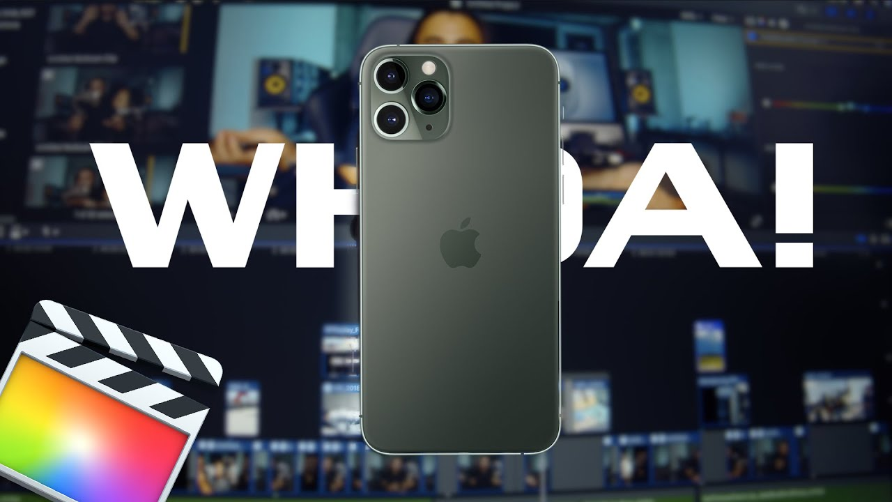 YOU WON'T BELIEVE What iPhone 11 is Capable of with FCPX!