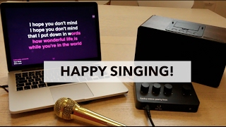 How To Set Up Your Lucky Voice Karaoke Machine