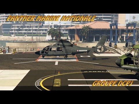 GROUPE DCPJ MODD #1   PANTHER MARINE NATIONALE GTA V