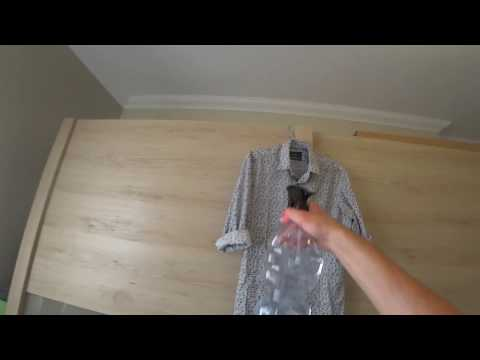 Как погладить рубашку без утюга? Лайфхак!