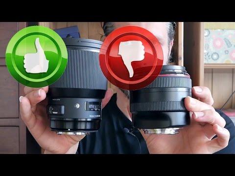 Sigma 85mm f/1 4 Art Versus Canon 85mm f/1 2L II Shootout