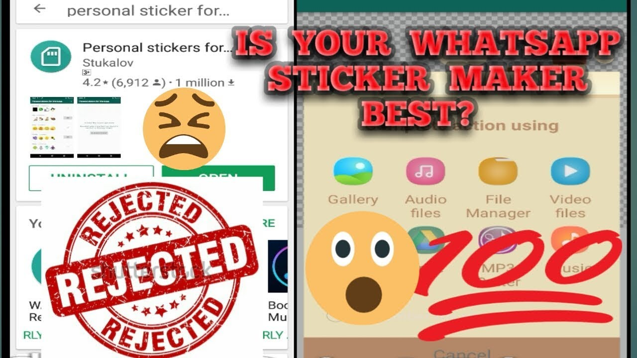 Imadevideo whatsapp stickers