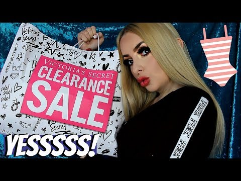 Victoria's Secret CLEARANCE SALE HAUL & try on!!