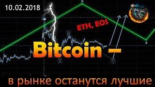 Bitcoin - проверка на стойкость. Ethereum и EOS - обзор