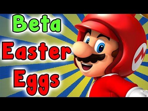 New Super Mario Bros. Wii - Beta SECRETS And EASTER EGGS