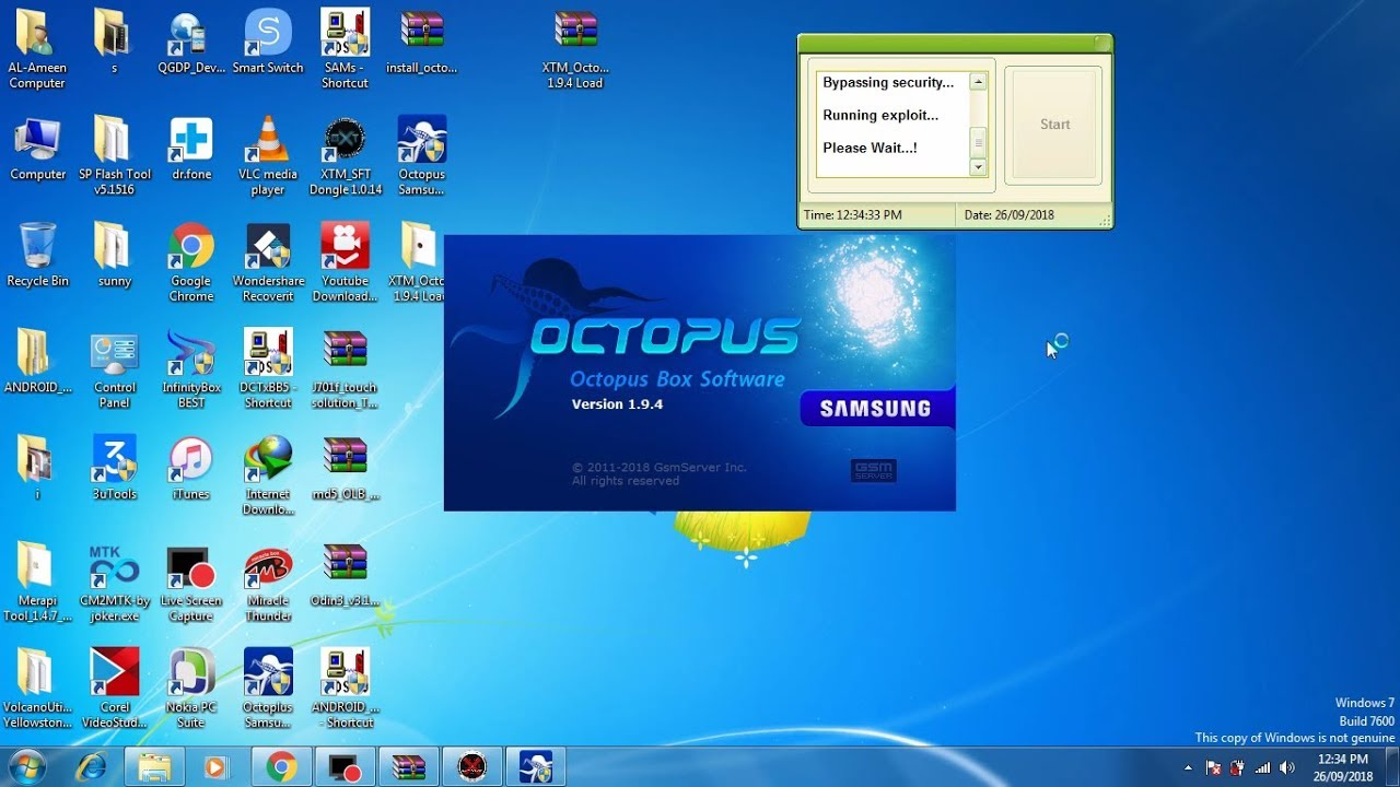 Octopus Samsung Tool 1.9.4 Crack | With Load File | Work 100% [ New Model Added - YouTube