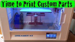 Flashforge Dreamer NX 3d Printer First Look