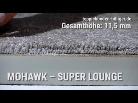 """Billiger teppichboden  Der Wohlfühl-Teppichboden """"Mohawk Super Lounge"""" mit SmartStrand ..."""